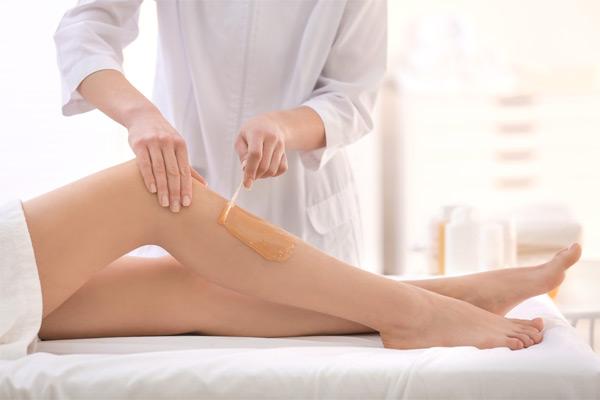 Epilation des jambes